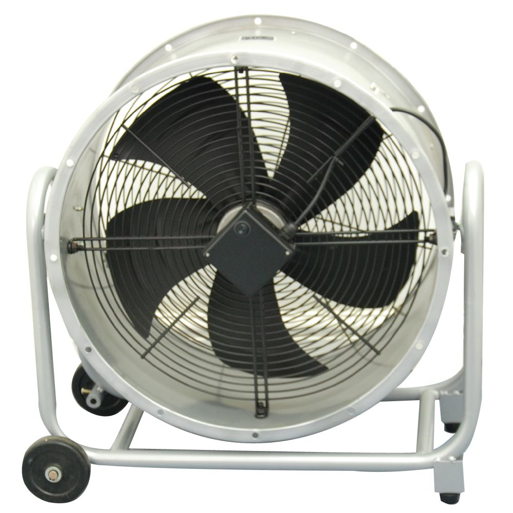 Portable Drum Fan : Industrial portable drum barrel fan by powerstar electricals